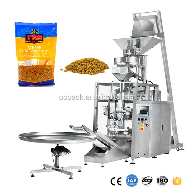 500g Methi Seeds Automatic Packaging Machine Manufacturer