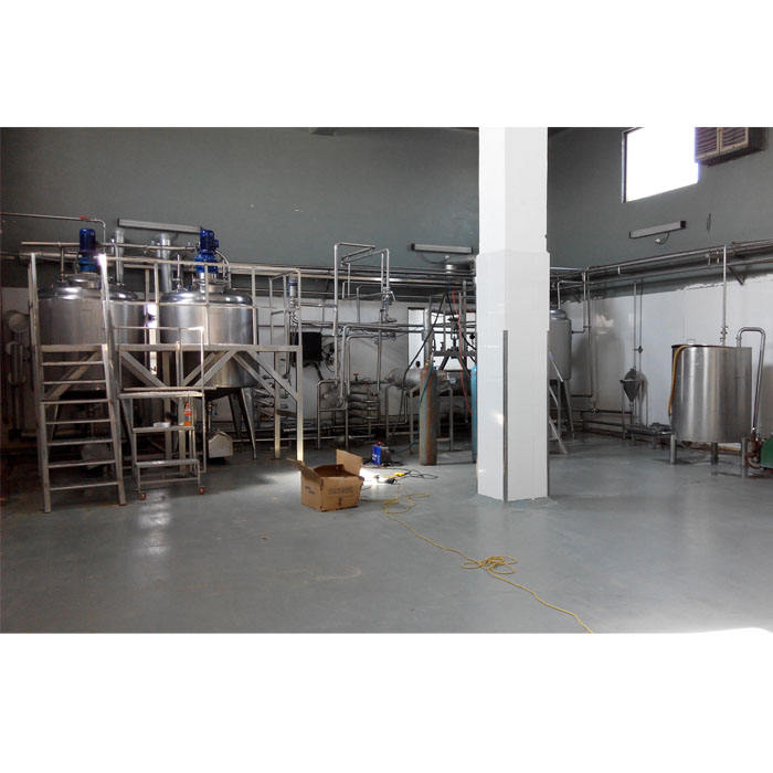 Industrial stainless steel small scale dairy milk yoghurt butter cheese cream production/processing plant