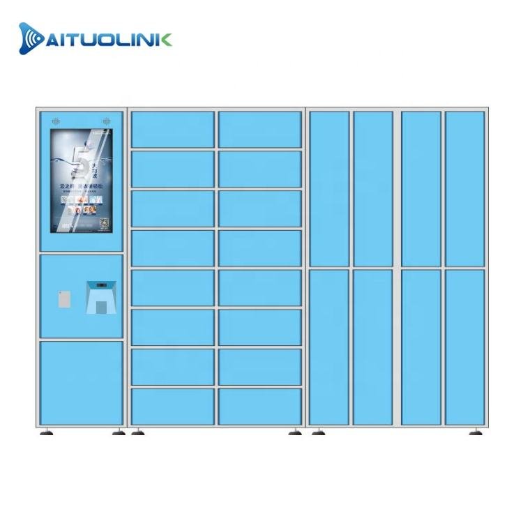 "OEM/ODM Smart Laundry Locker with 21.5"" Touch Screen Android Windows Linux Option and Software R&D"