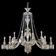 North American style country Baccarat crystal chandelier
