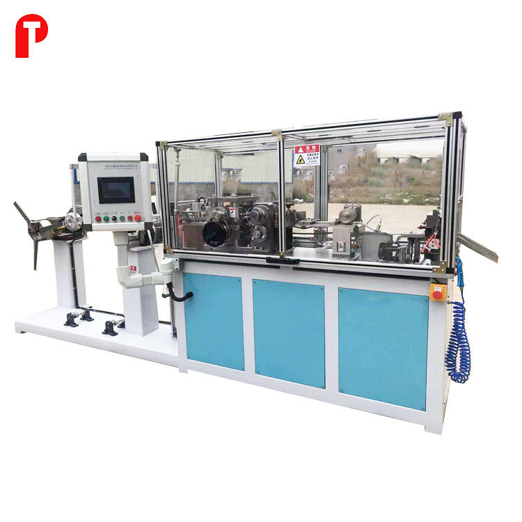 high speed automotive radiator corrugated aluminum copper brass fin rolling forming making machine