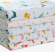 New material 5 layers cotton washable baby diaper changing mat for Infant sleeping