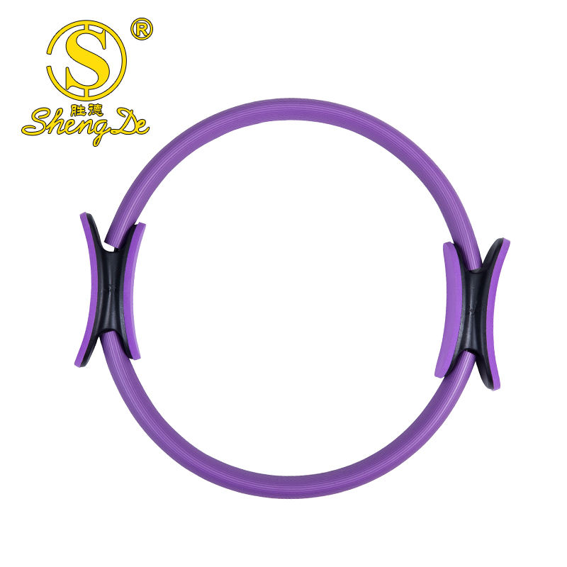 Fitness equipment double handle magic circle wholesale yoga pilates ring