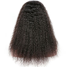 factory direct sales 100% indian remy hair kinky curl 360 lace wig