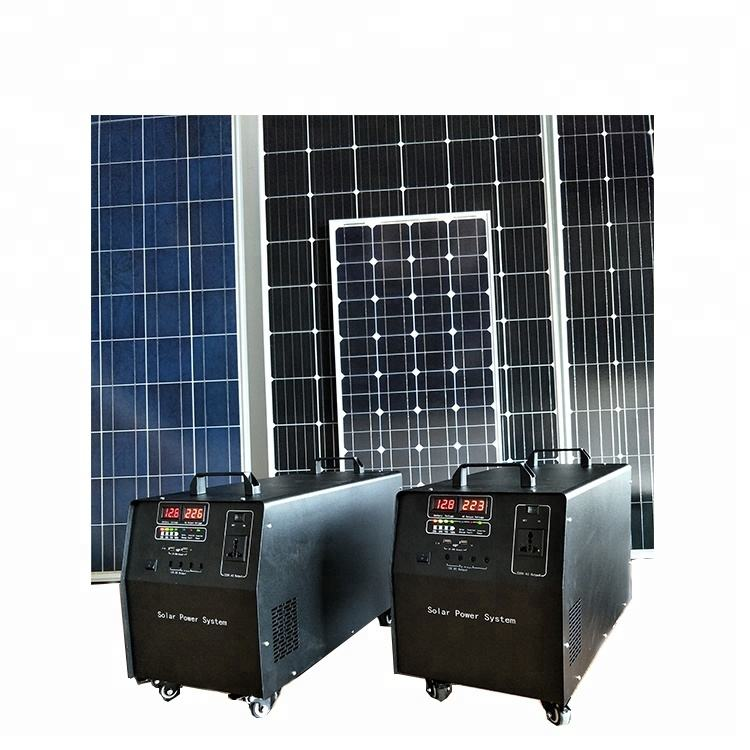 500 Watt Solar Robot Panel Off Grid Systems For Home Grid System