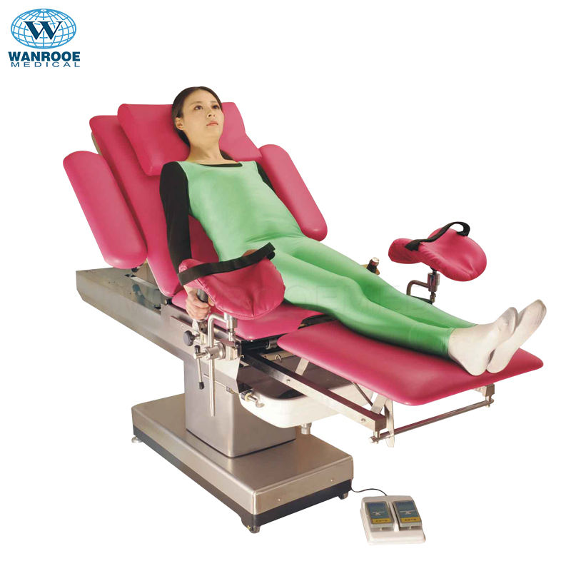 A-C102A Electric Gynecology Examination Couch Obstetric Labour Table With Low Price