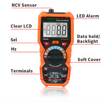 Factory price Digital Multimeter PM18A True RMS Auto Range high precision AC/DC 1000V voltage 10A current NCV Multimeter Tester