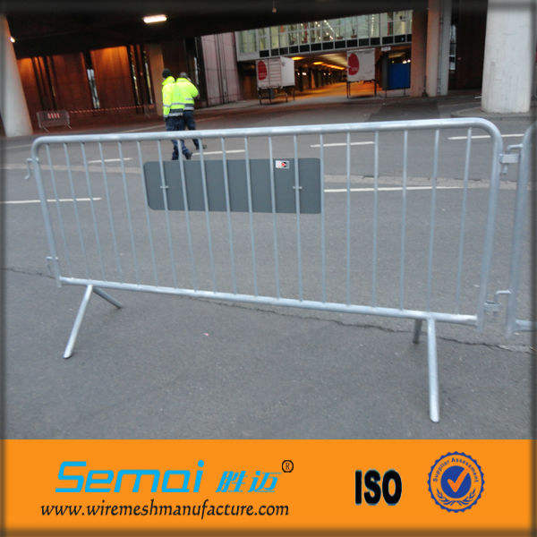 Cheap economic portable steel barricade/crowd control barriers/crowd control fences