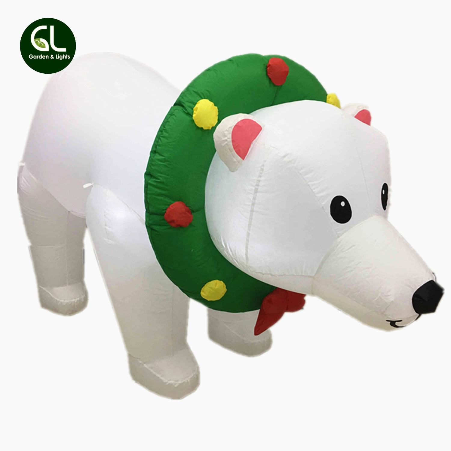 Best Choice Products inflatable christmas polar bear, inflatable bear, inflatable giant bear