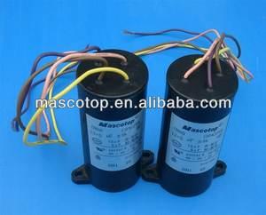 Condensador de 7 /μF con cable.