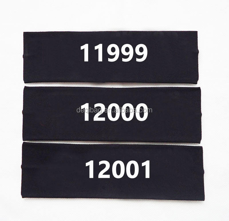 Personalized Cotton Terry Sports Headband With Heat Transfer Printing Serial Number Mens Headband For running and working out