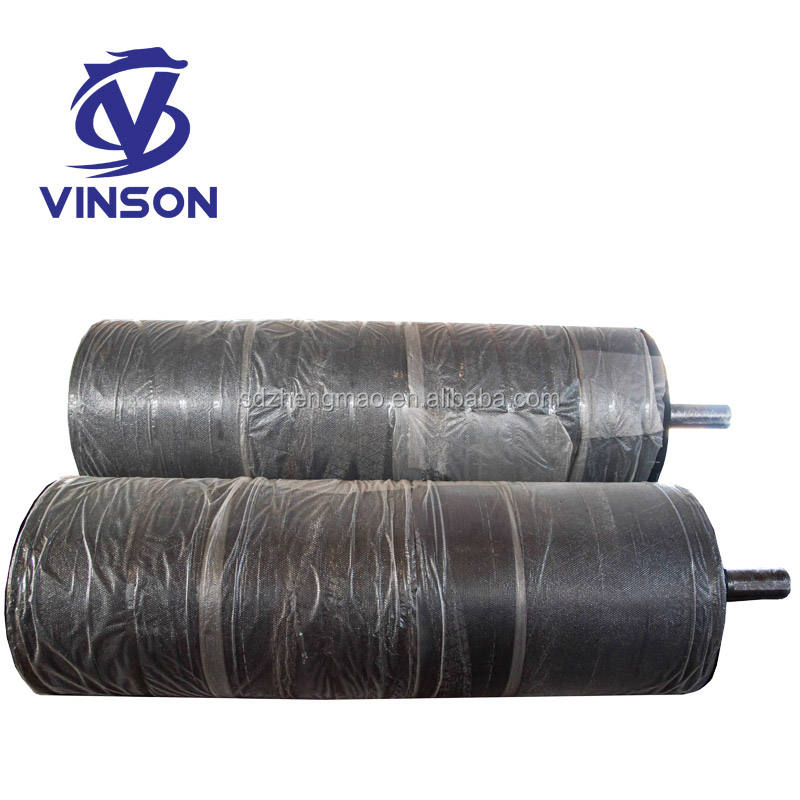 China High Quality Industrial Cooling Water Silica Gel Rubber Silicon Roller for Laminating Machine