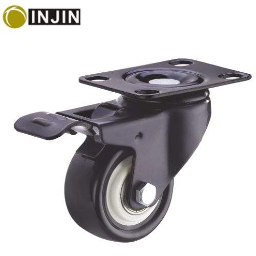 "hot sale 2""swivel cater wheels/swivel caster with brake/PVC caster"