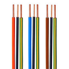 Bare Copper Wire Single Core 1.5mm Square BV Hard Wire Brown/Black/Red/Blue/Yellow/Green Color
