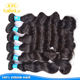 KBL virgin indian long hair bun,Top grade virgin remy human human hair clip on ponytail, cheap afro hair bun for black women