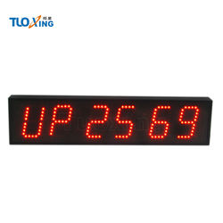 4 inch 6 digits battery operated timer