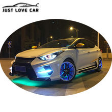 CAR BODY KITS EX TYPE FOR HYUNDAI ELANTRA AVANTE FRONT REAR BUMPER SIDE SKIRTS SPOILER