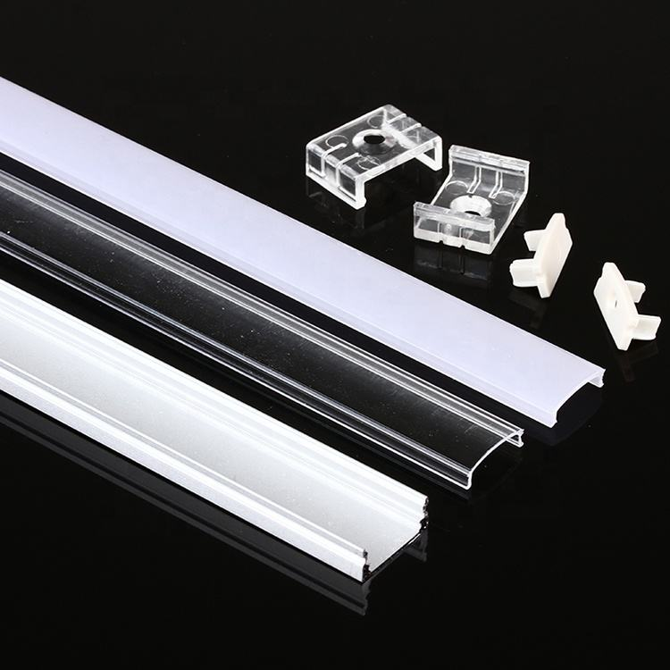 Aluminium profile for Led bar light 45 degree corner led aluminum profile