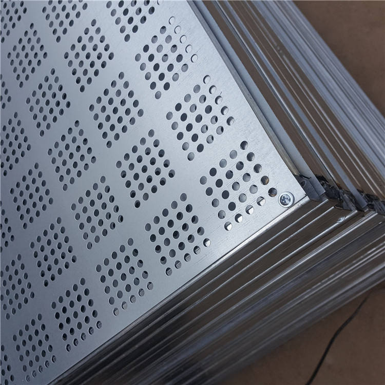 round hole perforated metal plastic mesh