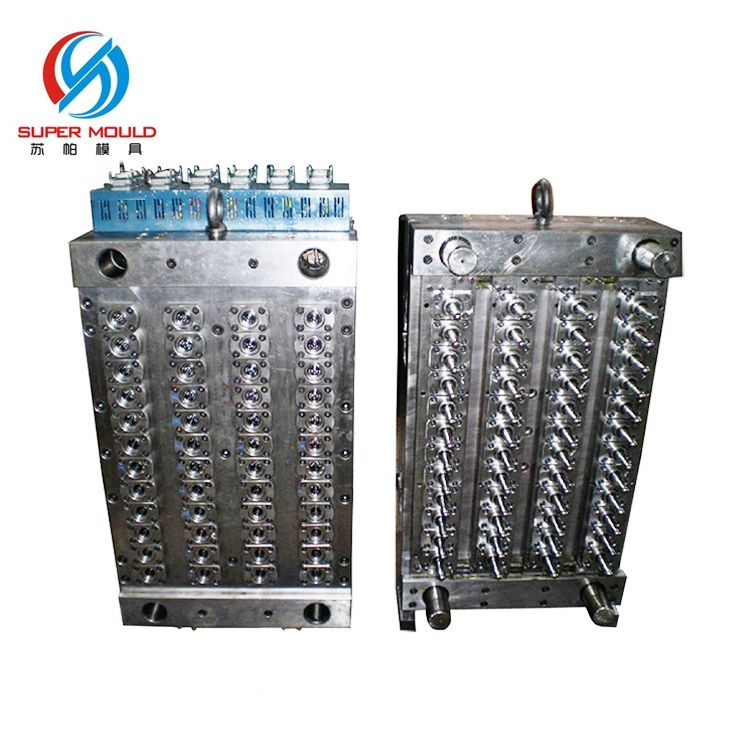 preform mould core,pet preform mould taizhou, high precision valve gate preform molding oem