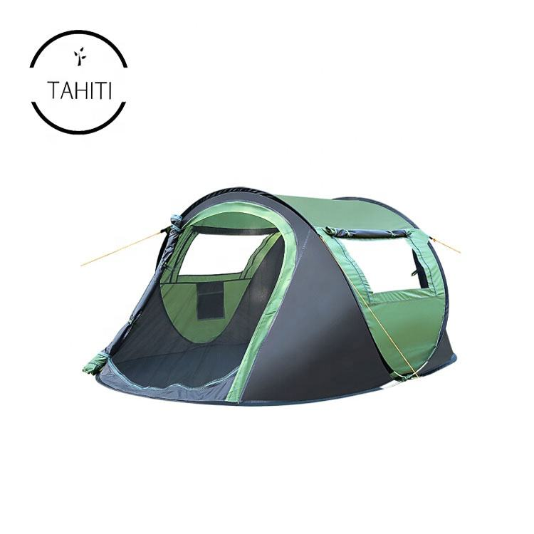 Instant 2 Person Automatic Lightweight Waterproof Breathable Sun Shelter Backpacking Boat Tent