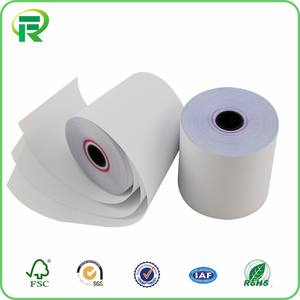 2-Ply NCR-Promo Harga Terbaik Carbonless Copy Kertas Roll Thermal Copy Paper Roll
