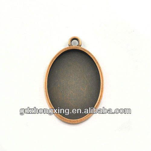 BULK Pendants Blank Connector Pendants Antiqued Copper Links 50pcs