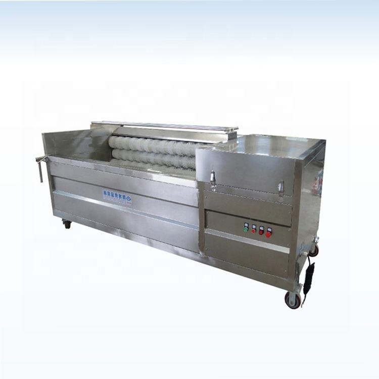 Onion ginger and garlic peeling machine for vegetable processing plant