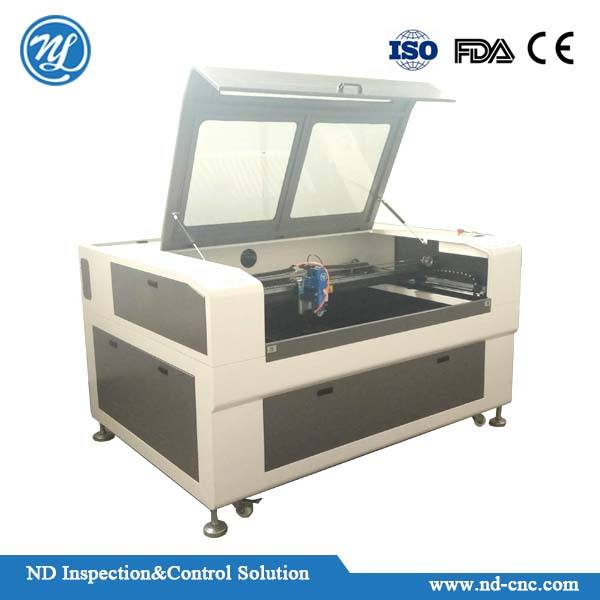 laser machine for wood engraving and cutting working with numerical control mechanism