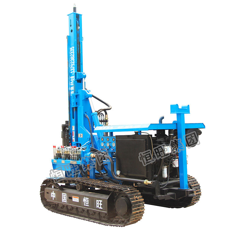 Engineering construction Crawler Rotary Solar pile driver for sale