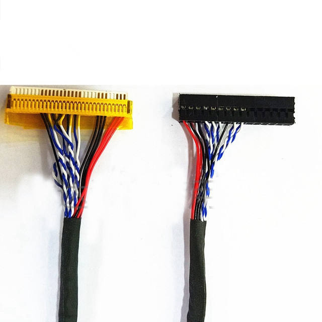FI-X Series LVDS Cable 30 Pin 2 Channel 6-Bit For WXGA+1440x900 LCD Display US