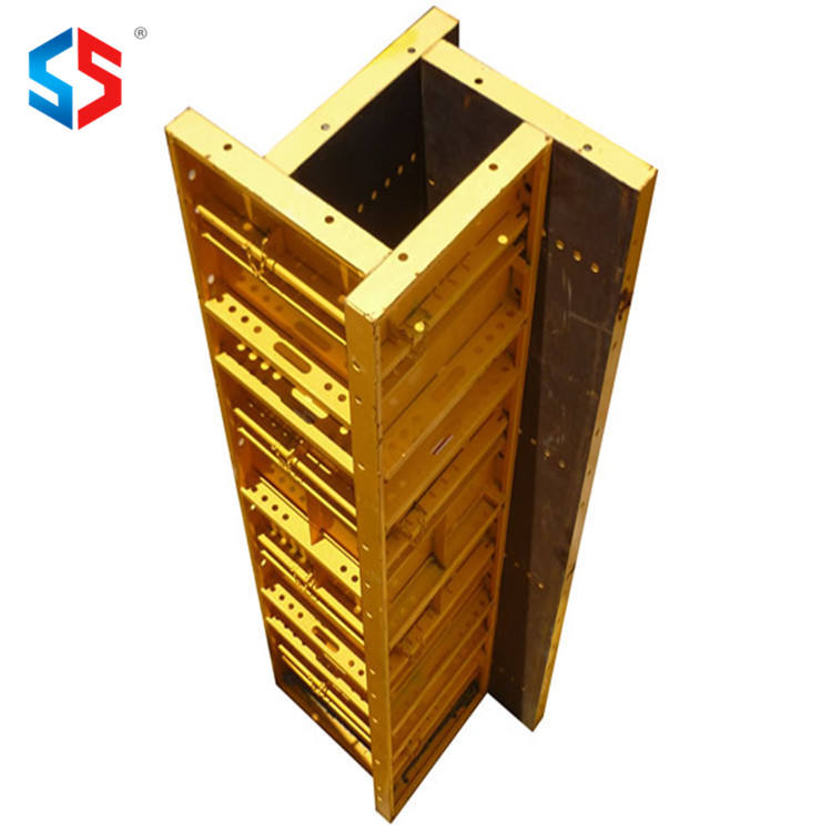 MF-195 Steel Concrete Pillar Building Formwork