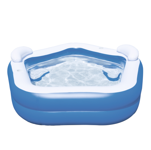 New Product Bestway54153 Inflatable Garden Summer Spa Seats Family Fun Paddling Pool Swim pool Center