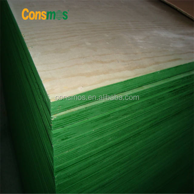 Linyi Consmos 18mm Pine Shutterply plywood