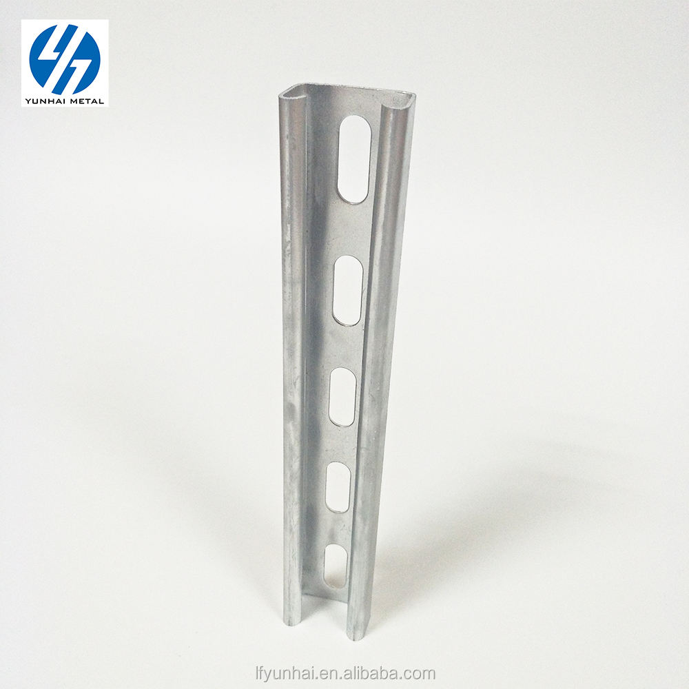 Zinc galvanized structure steel c channel