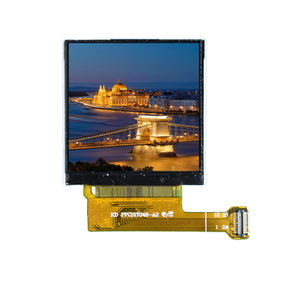 MCU interfaccia display lcd 1.54 pollice per una crescita intelligente orologio touch screen IPS 240x240 dots tft lcd modulo