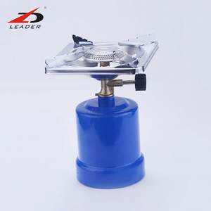 ZK04 wholesale factory direct sale iron portable gas cartridge stove burner for camping and home coffee stove