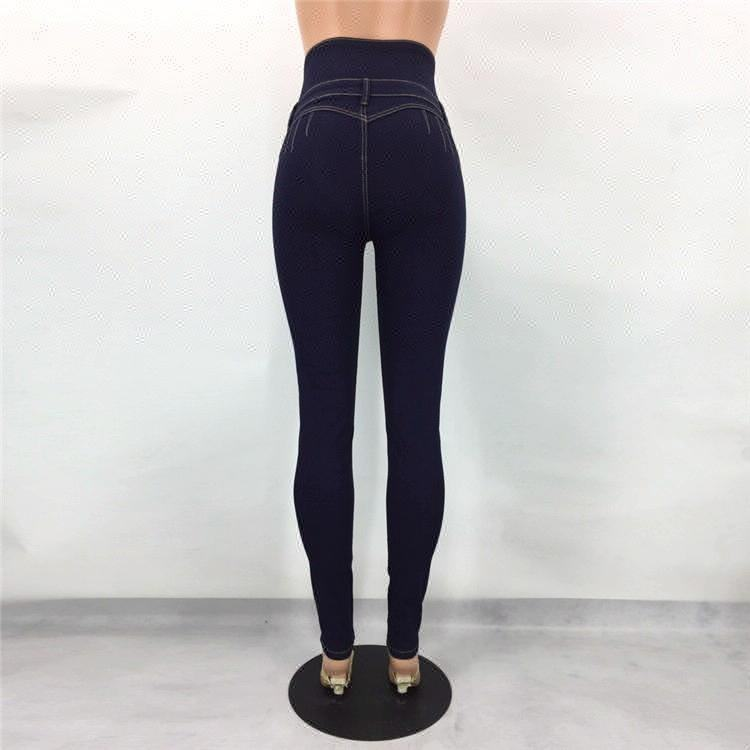 D & S fábrica dropshipping botão de cintura alta jeans skinny <span class=keywords><strong>mulheres</strong></span> butt lift brasileira colombiano calça jeans <span class=keywords><strong>mulheres</strong></span>