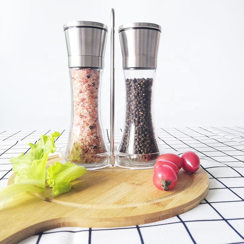 Premium In Acciaio Inox Pepper Mill Grinder Sale e Pepe Grinder Set