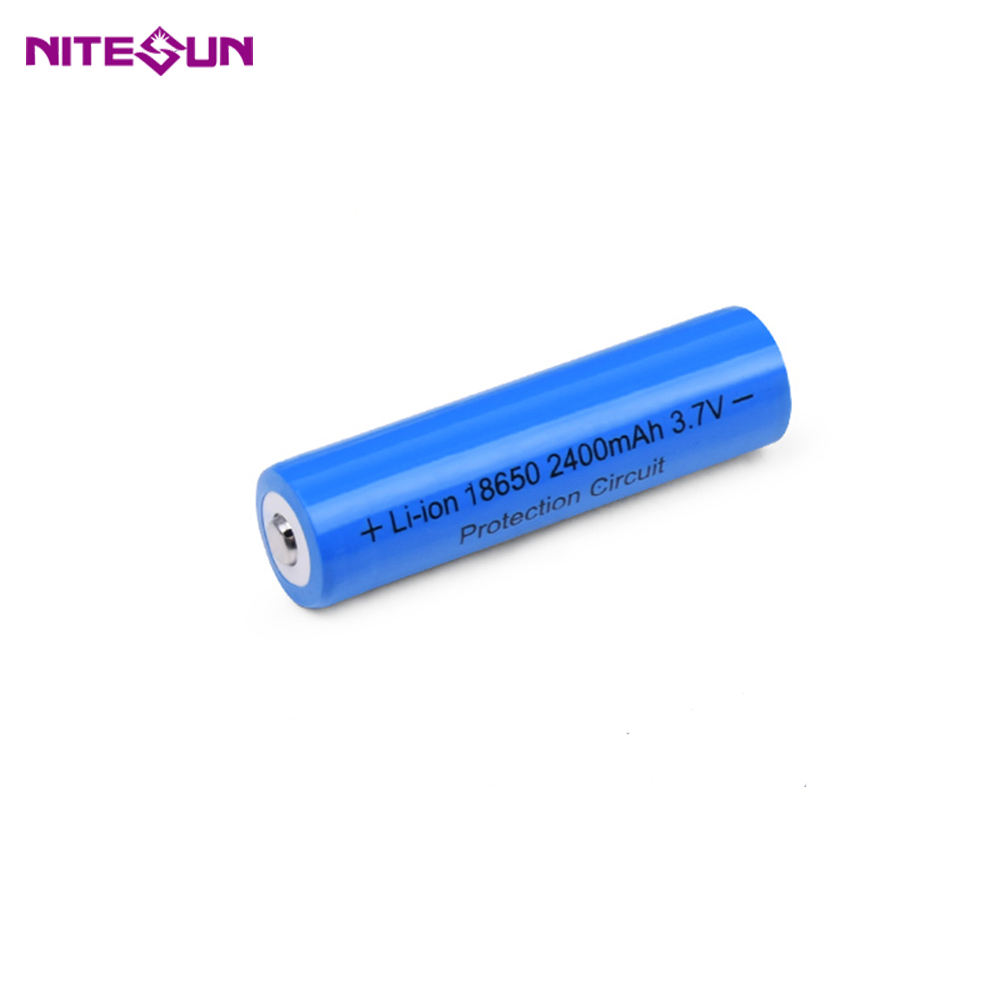 Nitesun 2400mAh Rechargeable Li-ion 18650 battery