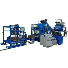 interlocking brick machine QTJ4-15 Habiterra blocks building solutions incorporated/Habiterra block making machine