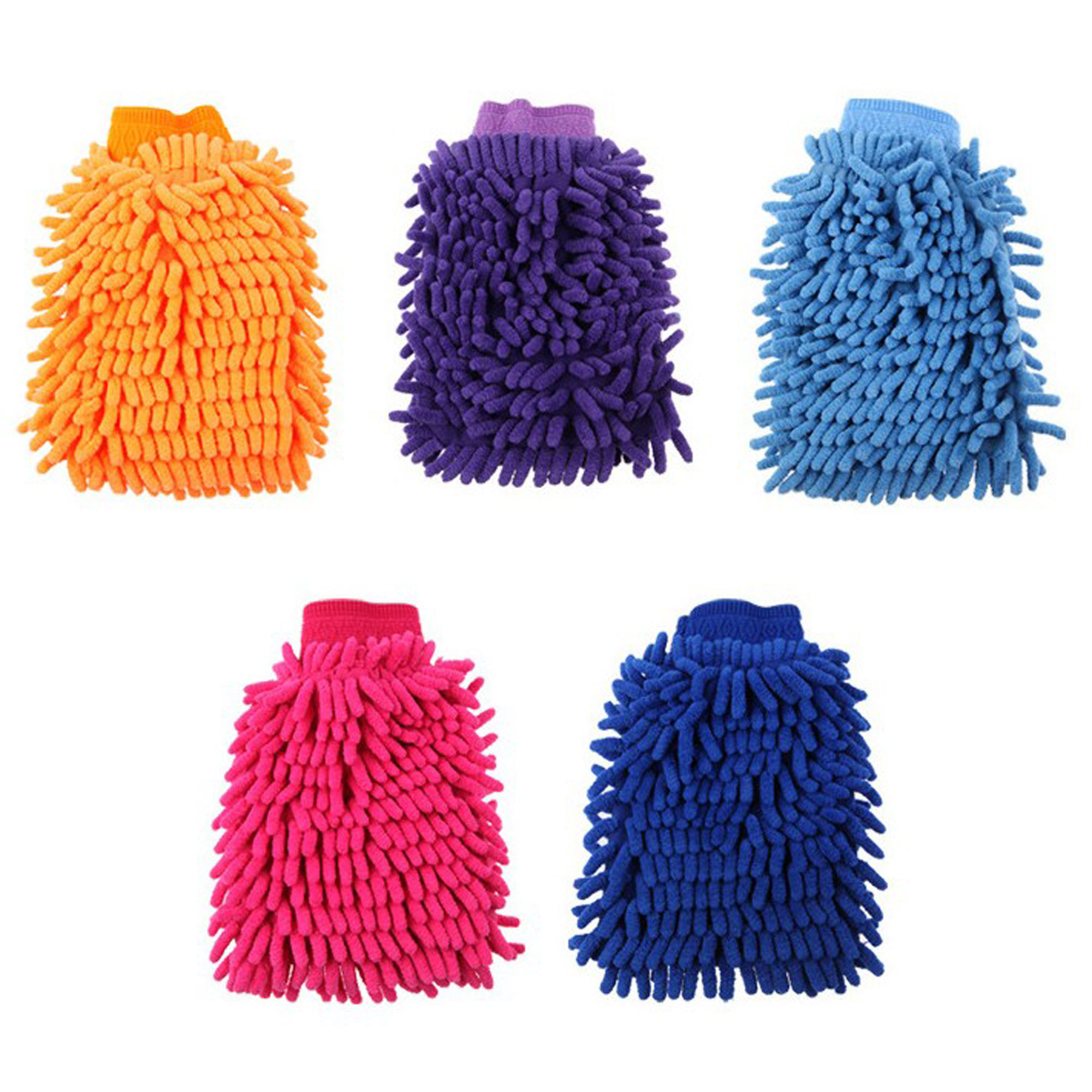 PL- New product promotional microfiber chenille car office home wash towel
