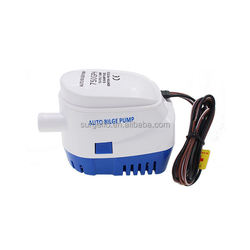 SURGEFLO 750GPH 12V dc electric automatic marine impeller bilge pump for boat plumbing submersible