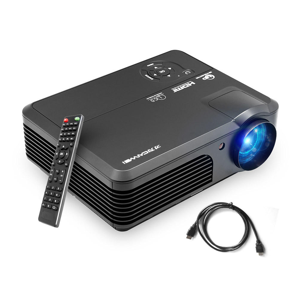 4200 Lumens caiwei Full HD home cinemaโรงละครled projector