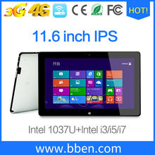 1366*768 IPS Screen ddr3 8gb 256gb ssd 11.6 inch windows tablet pc microsoft surface pro 4 intel core i7