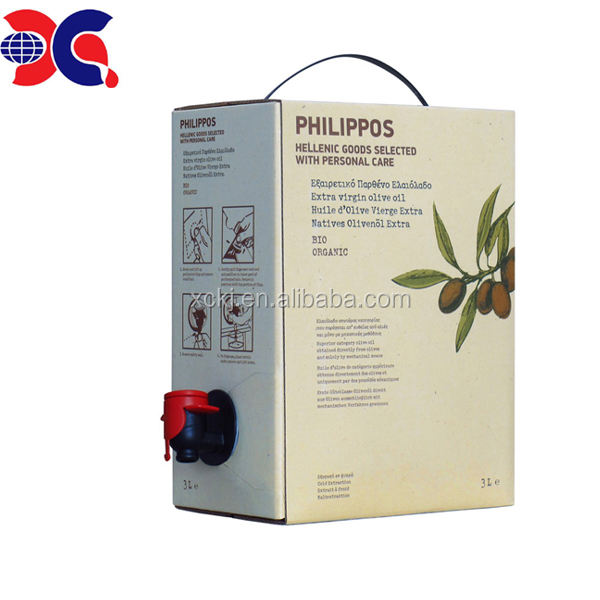 5l 10l 20l ldpe materials extra virgin olive oil packaging bag in box