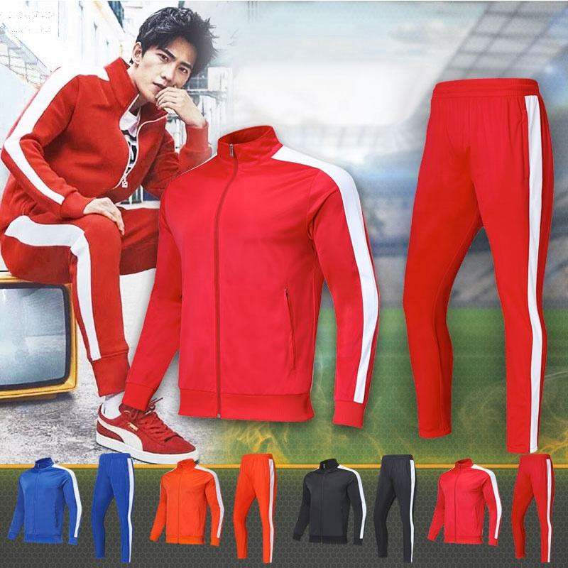 Shinestone men adults kids Sportswear custom design sports track suits jogging suits 4XS-5XL track suit in sport