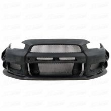 2008-2015 VRS STYLE HALF CARBON FIBER BODY KIT FRONT BUMPER FOR MITSUBISHI EVOLUTION EVO 10 EVO X