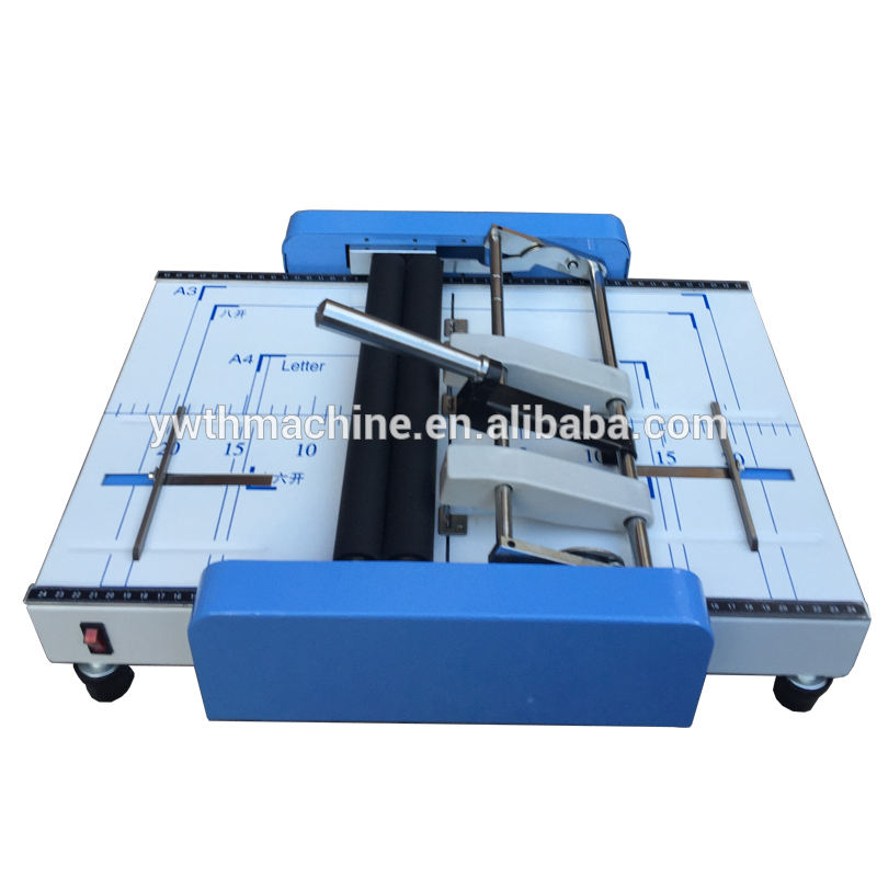 2016 Upgrade A3 Saddle Booklet Maker Binding Machine