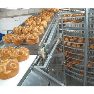 Bakery Tanaman Cooling Tower Roti Spiral Cooler